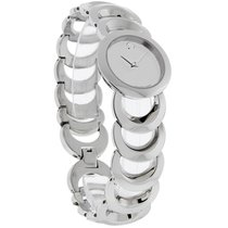 Movado Rondiro Ladies Mirror Dial Stainless Steel Dress Watch...