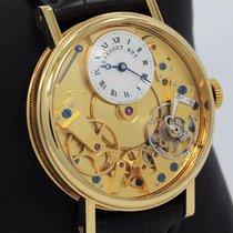 Breguet La Tradition 18k Yellow Gold Skeleton Dial 7027ba/11/9v6