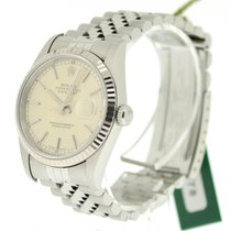 Rolex Datejust Steel with Silver Dial, Ref: 16234