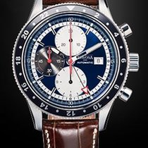 Davosa World Traveller Chronograph GMT Automatik Glasboden
