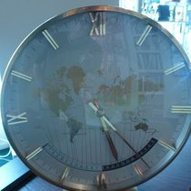 Kienzle huge vintage jumbo desk clock worldtime