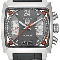 TAG Heuer Monaco Twenty-Four Racing Calibre 36 Chronograph...