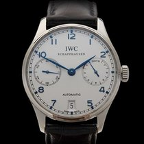 IWC Portuguese 7 Day Power Reserve Stainless Steel Gents IW500107