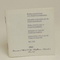 IWC Instruction Booklet