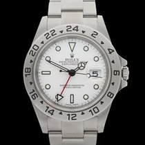 Rolex Explorer II Rehaut Stainless Steel Gents 16570 - W3981