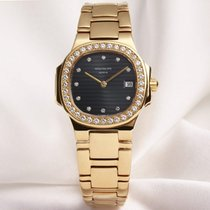 Patek Philippe Lady Nautilus 4700/2J 18K Yellow Gold Diamond