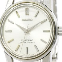 Seiko Vintage King Seiko 2nd Model Steel Hand-winding Mens...