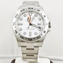 ロレックス (Rolex) Explorer II 216570 42mm Watch White Face Box...