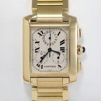 Cartier Tank Francaise Chronograph Gold