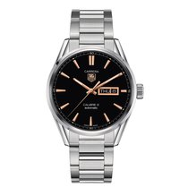 TAG Heuer Carrera 41mm Day Date Automatic Mens Watch Ref...