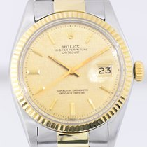 Rolex Datejust 18K Gold/Stahl 1970er Chronometer Oysterband...