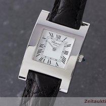 Chopard Lady 18k (0,750) Weissgold Your Hour Damenuhr Saphirglas