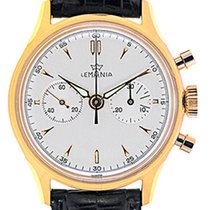 Lemania Mans Wristwatch Chronograph