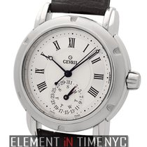 Gevril Day-Date Stainless Steel 38mm