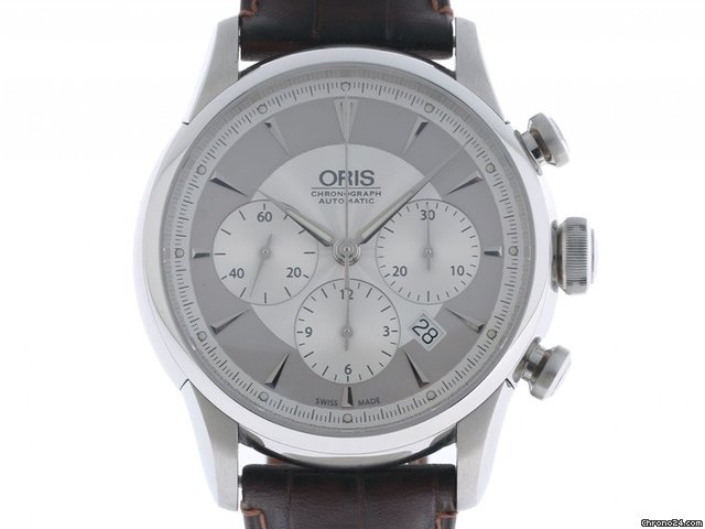 oris artelier chronograph stahl automatik lederband 43mm f r kaufen von einem trusted. Black Bedroom Furniture Sets. Home Design Ideas