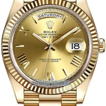 Rolex Day-Date 40mm Yellow Gold 228238 Champagne Roman