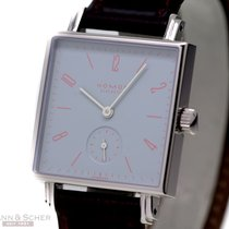 Nomos Tetra- Knabenkraut Ref-16635 Stainless Steel Box Papers...