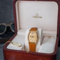 Ωμέγα (Omega) De Ville Prestige Tonneau 18k Rose Gold