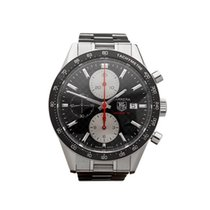 TAG Heuer Carrera Chronograph Stainless Steel Gents CV201T -...