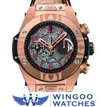Hublot - BIG BANG UNICO WORLD POKER TOUR KING GOLD Ref....