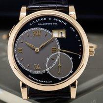 A. Lange & Söhne 115.031 Grand Lange 1 18K Rose Gold Black...