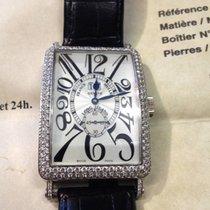Franck Muller 1200 S6 GG D Long Island Big Date Diamonds 67%...
