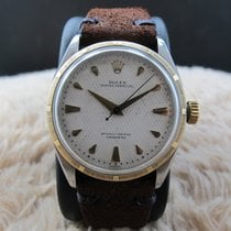 Rolex BUBBLEBACK 6303 2-Tone with Waffle Dial (no lume)