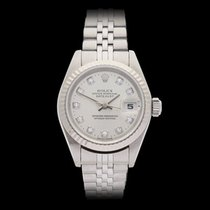 Rolex Datejust Stainless steel & 18k white gold Ladies 79174