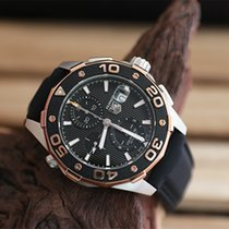 TAG Heuer Aquaracer 500 Chronograph Calibre 16 Rose-Gold