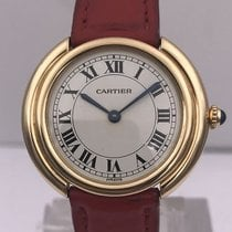 Cartier vintage circa seventies VENDOME auto gold with gold gasp