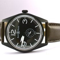Bell & Ross Aviation Type 41mm Watch on Leather Strap