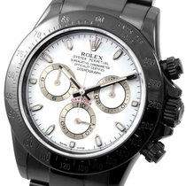 Rolex PVD/DLC Daytona White Dial 116520 Model