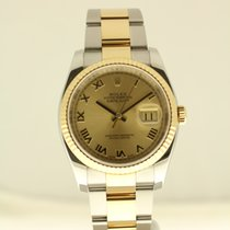 Rolex Datejust  S/G 116233 from 2015 complete with box and papers