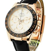 Rolex Unworn 116515ISL Rose Gold Daytona on Strap - Ceramic...
