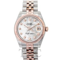 롤렉스 (Rolex) Datejust Lady 31 White MOP/18k rose gold Ø31mm -...