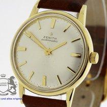 ゼニス (Zenith) Vintage Automatic Men's solid 18K Gold Watch...