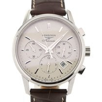 Longines Heritage Chronograph 40 Leather