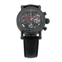 Chronoswiss Grand Opus Chronograph DLC Mens Watch NIB CH7545S