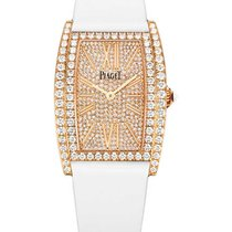 Piaget GOA39192 Limelight Tonneau in Rose Gold with Diamond...