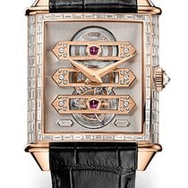 Girard Perregaux VINTAGE TOURBILLON THREE GOLD BRIDGE Pink...