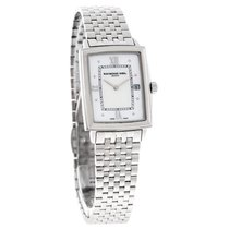 Raymond Weil Tradition Ladies MOP Swiss Quartz Watch 5956-ST-0...