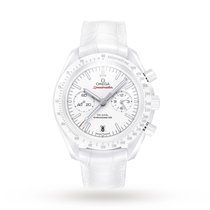 Omega White Side Of The Moon Mens Watch 311.93.44.51.04.002