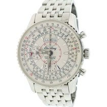 Breitling Montbrillant Datora Calendar GMT 43mm Chronograph...