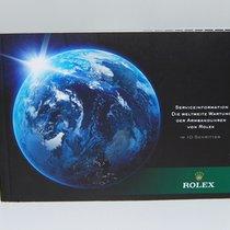 Rolex Service Information Heft