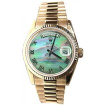 Rolex President Mens Perfect Pre-Owned Heavy Band Model 118238...