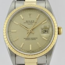 Rolex OYSTER PERPETUAL DATE 18k GOLD & STEEL
