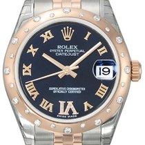 Rolex Datejust 31 Roségold Diamant Lünette 178341 Purple R DIA...