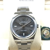 劳力士  (Rolex) Oyster Perpetual Dark Rhodium Grey Index Dial...