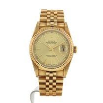 Rolex Oyster Perpetual Datejust en or jaune Ref : 16238 Vers 2001