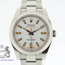 Rolex Milgauss 116400 White Dial Box & Swiss Papers 2008